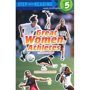 Great Women Athletes(Step into Reading 5)伟大的女运动员