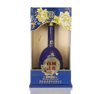 杜康 50.2度 国花 盛世15年 500ml 购酒网 正品名酒白酒礼盒 喜酒