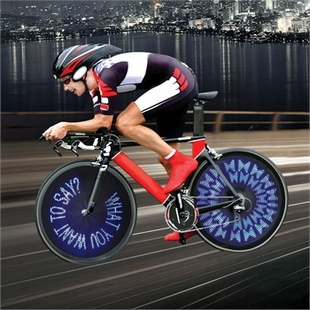 LED编程自行车风火轮【趣玩】