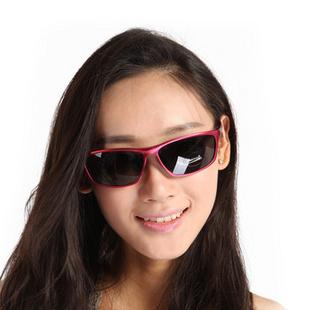 Makino/犸凯奴 女款偏光自驾游旅行防紫外户外眼镜M117 红色