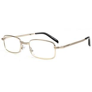 年轻态老花镜 N520 亮银色/前亮银色后黑色 +4.00