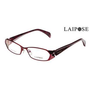 正品黎姿红色眼镜框 时尚眼镜架 近视眼镜 女LA6253C2