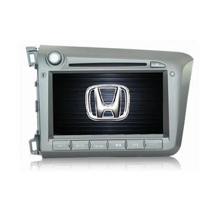 卡仕达领航系列 本田新思域 专车专用车载DVD导航一体机CA277-T 导航+包安装