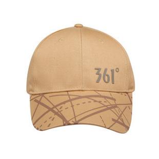 361° 新款运动帽A 1242016 卡其