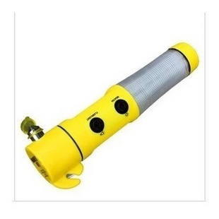 带手电筒汽车安全锤 六合一救生锤 逃生锤多功能