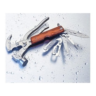 新品 多功能金属汽车安全锤 羊角锤 车载逃生工具 十六合一