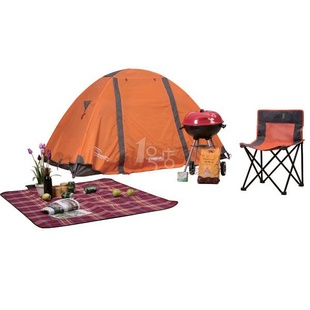 紫灿 野营垫(红色)