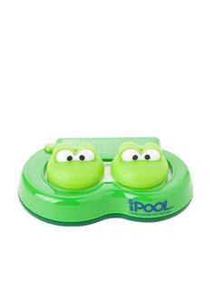 纳米银抗菌卡通青蛙隐形眼镜清洗器(绿色)