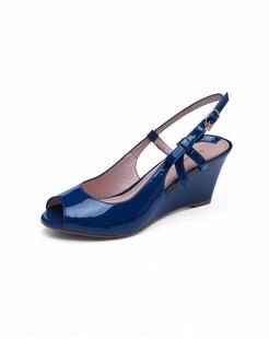 2014女款蓝色高跟鞋