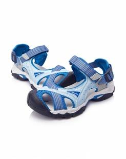 女款蓝色沙滩鞋