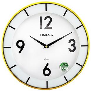 天美时TIMESS 欧洲青年时尚超静音挂钟 T1111