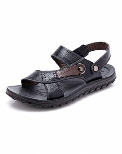 黑色时尚休闲沙滩鞋