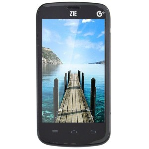 中兴 Q101T 3G手机(白色) TD-SCDMA/GSM 双卡双待