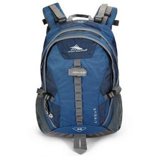 High Sierra H06*NL002 休闲户外大容量双肩登山背包 蓝色