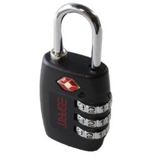 埃斯普利特ESPRIT配件TSA密码锁聚碳酸酯金属00030黑色40mm