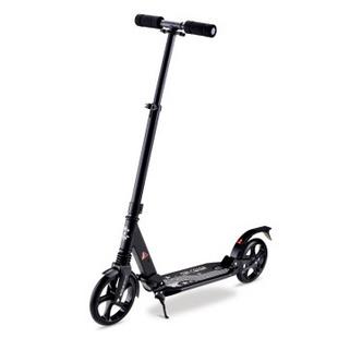圣卡洛成人滑板车 上班代步车二轮踏板车 黑色