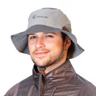 快乐狐狸(Actionfox)夏男女速干防紫外线户外大沿遮阳帽钓鱼帽2057 深灰色-升级版 58cm均码