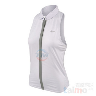 Nike Lawn Dri-Fit Touch Sleeveless 女款网球服 李娜