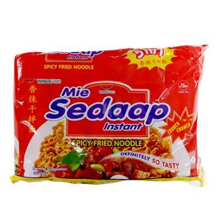 喜达 香辣干拌面 88g*5 印尼进口