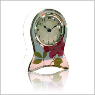 骑士与公主正品 欧式 时尚 创意 座钟 桌钟 复古 台钟 印花 155*116*45MM
