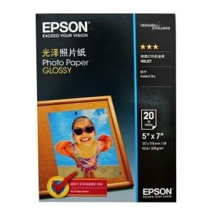EPSON爱普生S042552 新一代光泽照片纸 7寸/20张