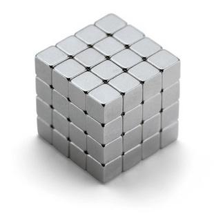 德国斐利比(Philippi)64位魔方创意磁力游戏组 217001