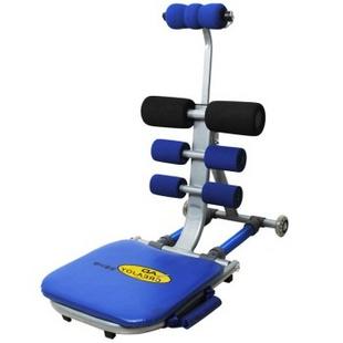 创悦 仰卧起坐健身器材 懒人收腹运动机 CY-9398 经典版 蓝色