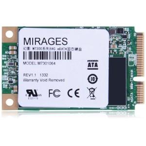 幻影(MIRAGES) M7300系列 64G mSATA固态硬盘