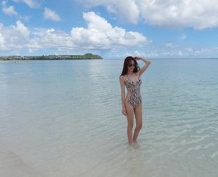 mocobling-性感纯色新款时尚泳装/颜色:蓝色2014年
