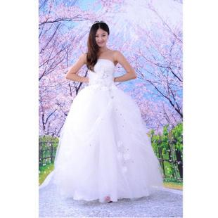 久爱久浪漫唯美【美丽邂逅】婚纱(QA03103)
