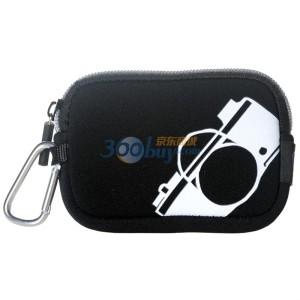 包包大人 时尚数码相机包(黑色)