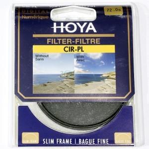 保谷(HOYA) CIR-PL SLIM 72mm专业超薄圆形偏光镜片