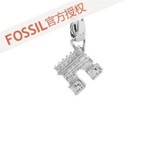 fossil 女士 凯旋门吊坠 JF00182040 银色