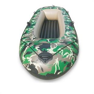 盈泰 迷彩充气船 橡皮艇 加厚 可加马达 二人三人四人可选