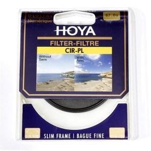 保谷(HOYA) CIR-PL SLIM 67mm专业超薄圆形偏光镜片