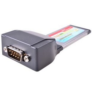 魔羯(MOGE)MC5379 ExpressCard转RS232卡,单串口,兼容54插槽,MOSCHIP芯片