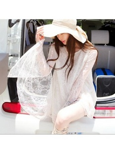 韩国正品 PARTYSU 蕾丝防晒衣 2142