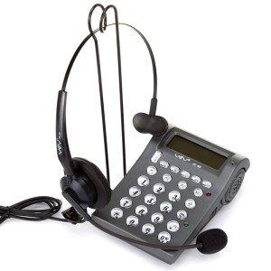 亚尔亚(YEY)VE400 呼叫中心话务员专用 耳机电话