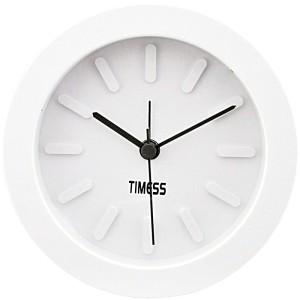 TIMESS 美式经典雅致闹钟 S-165 高雅白