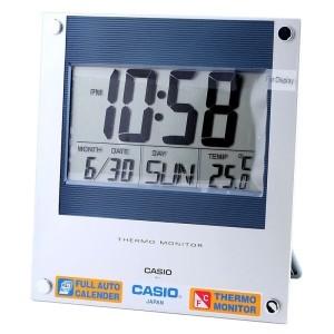 卡西欧(CASIO)座钟 数字式温度座挂两用ID-11-2DF