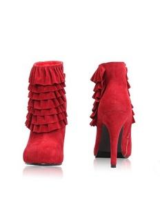 dumo高跟靴子