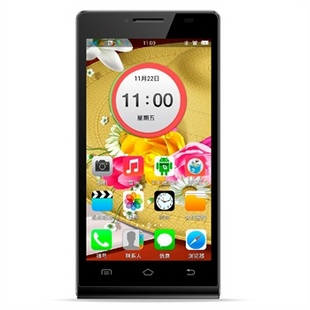 凯利通I888雅致 5.0英寸IPS屏 1.2G双核 3G智能手机TD-CSDMA/GSM
