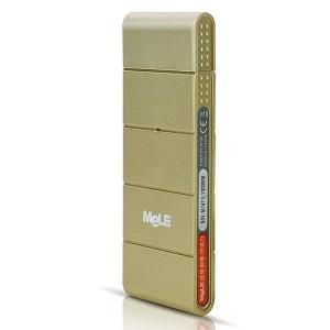 迈乐(MELE)影棒 土豪金 多屏互动 无线WIFI网络电视影音棒 智能手机平板电脑配套伴侣 商务娱乐