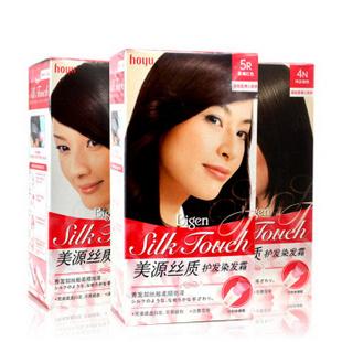 美源正品染发霜Bigen日本原装进口染发膏植物渐变快速染发剂 3N自然棕黑色