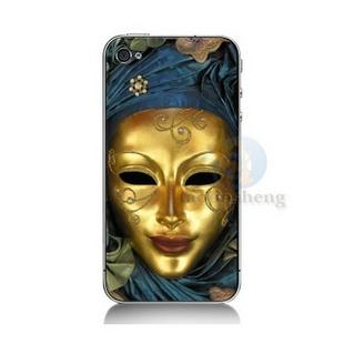 iphone4壳 iphone4s手机壳套 4s外壳 保护壳 威尼斯面具