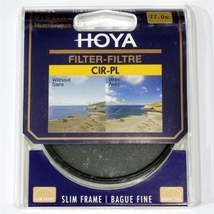 保谷(HOYA) CIR-PL SLIM 77mm专业超薄圆形偏光镜片