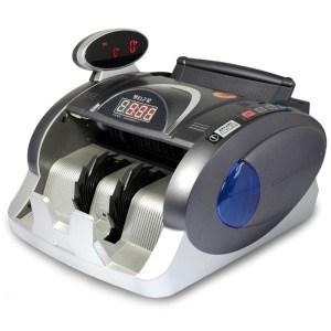 新大(SUANPAN) JBYD-8020C 新国标点钞机 人工语音智能报警验钞机 双屏时钟设计 波音飞机造型