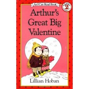 Arthur's Great Big Valentine (I Can Read, Level 2) [平装] [4-8岁] [亚瑟的伟大情人节]