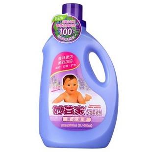 妙管家衣物柔软剂(玫瑰)3L+600ml