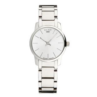锐力(READ)手表简约简约超薄情侣表原装进口石英机芯时尚休闲 R6011 白面钢带女表